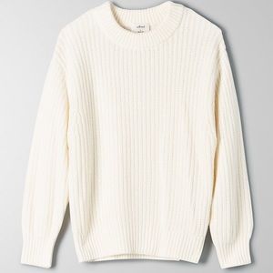 Aritzia Wilfred Essential Chenille Knit Sweater